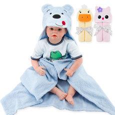 1 Piece Baby Kids Hooded Bath Towel Cartoon Baby Bathrobe Fashion Designs Hooded Animal Modeling Infant Bathrobe Kids Bath Robe