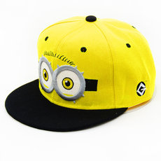 Fashion Baseball Cap God Steal Dads Film Yellow People Minions Children Flat Snapback cap