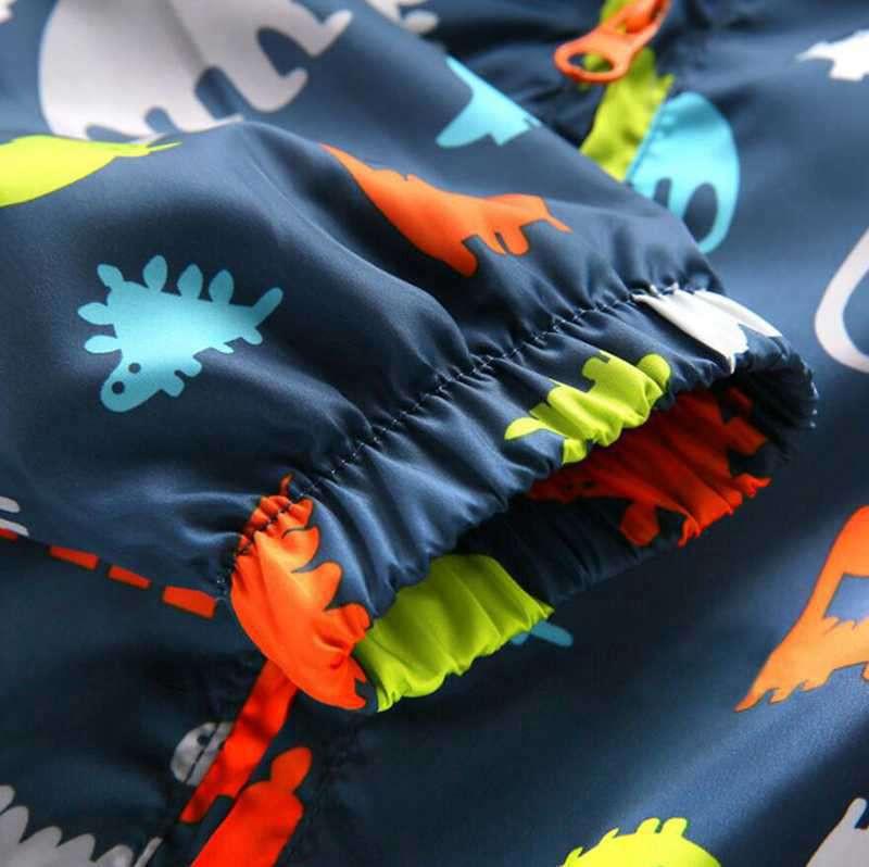 90-120cm Cute Dinosaur Spring Kids Jacket Boys Outerwear Coats Active Boy Windbreaker Cartoon Sport Suit For Children Kids (5)