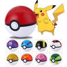 7cm Pokemon Pokeball ABS Figures Japanese Hot Anime Pokemon PokeBall Toys