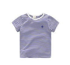 Summer New striped Children T Shirts Boys Kids T-Shirt
